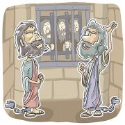 Paul and Silas praised God in Prison