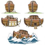 Various images of Noah's ark
