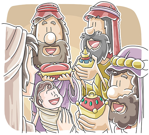 Gifts for Jesus from wise men