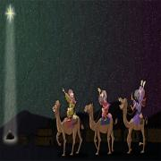 The wise men and the star of Bethlehem